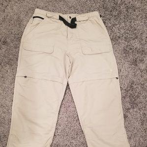 THE NORTH FACE Mens Convertible Pants Shorts Large